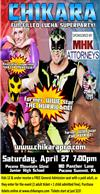 CHIKARA PRO Wrestling coming to PM West Junior HS April 27