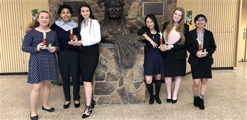 WHS Speech & Debate Team National Qualifiers