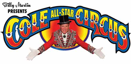 Cole All-Star Circus Logo