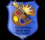 PAEA Outstanding Visual Arts Community 2019 - Logo