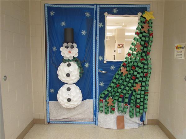 holiday door decorations interesting holiday door
